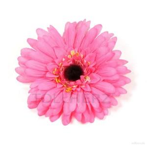AB-115 Ansteckblume, Haarblume Gerbera in pink, Ø ca. 12,5 cm, Höhe ca. 3 cm