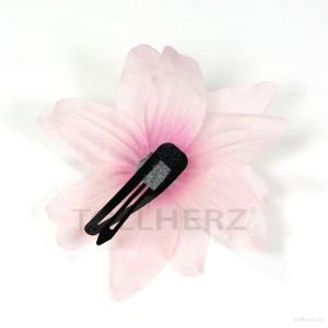 AB-139 Haarblüte, Haarblume Lilie in pink, Ø ca. 12 cm, Höhe ca. 5 cm