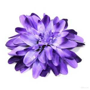 AB-183 Ansteckblume, Haarblume Dahlie in violett-blau, Ø ca.15 cm, Höhe ca. 3,5 cm